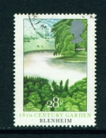 GREAT BRITAIN  -  1983  Gardens  28p  Used As Scan - Used Stamps