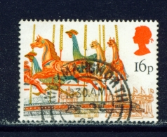 GREAT BRITAIN  -  1983  Fairs  16p  Used As Scan - Gebruikt
