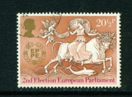 GREAT BRITAIN  -  1984  Europa  201/2p  Used As Scan - Used Stamps