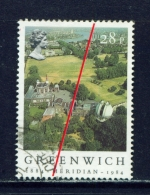 GREAT BRITAIN  -  1984  Greenwich Meridian  28p  Used As Scan - Used Stamps