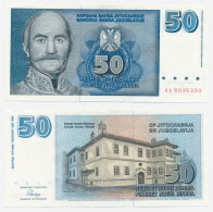 1995/96 // SERBIE-MONTENEGRO // 50 NOVIH DINARA // SPL/AU - Serbie