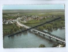 CPM - Courcelles Sur Seine - Vue Générale Aérienne - Le Pont Sur La Seine - Other Municipalities