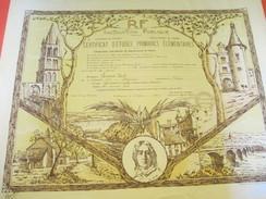 Diplôme/Certificat D'Etudes Primaires Elémentaires/Instruction Publique/Poitiers/Aigurande/Indre/LACOUD/1939      DIP163 - Diplomi E Pagelle