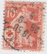 FRANCE N° 147a  Rouge -Orange   - LOT LOC37