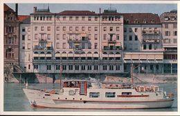 Basel, Hotel Drei Könige Am Rhein, Bateau (5390) - BS Bâle-Ville