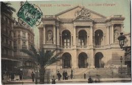 TOULON LE THEATRE ET LA CAISSE D EPARGNE - France