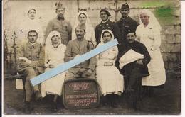 Cabannes Bouches Du Rhone Hopital 106 Derniers Bléssés De La Guerre 24/11/18 Poilus Tranchée 1914-1918 Ww1 1wk - War, Military