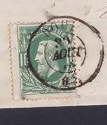 N° 30 / Lettre (lac ) De DOUR DC Vers Thy Le Chateau 31 Aout 1873 - 1869-1883 Leopold II