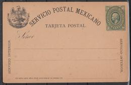 Mexiko, Postkarte 1, Ungebraucht / Mexico, Tarjeta Postal 1, Unused