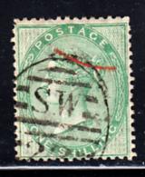 Great Britain Used #28 1sh Victoria Watermark Inverted - 1840-1901 (Victoria)