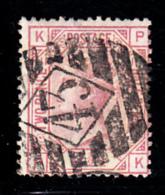 Great Britain Used #67 2 1/2p Victoria Plate 11 Position KP Cancel 43 - 1840-1901 (Victoria)