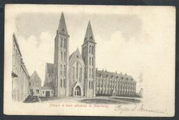 +++ CPA - Abbaye Et Ecole Abbatiale De MAREDSOUS  //