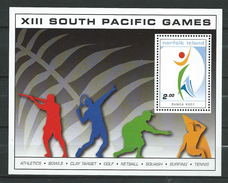 Norfolk Island 2007 South Pacific Games - Samoa.Block.sport.MNH