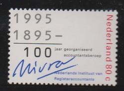 Mathematik 416) Niederlande 1995 Mi# 1538 **: Wirtschaftsprüfung, Differenz 1995-1895=100 - Berufe