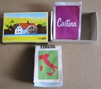 SCATOLINO MULINO BIANCO -GIOCO CARTINA ITALIA COMPLETO (200515) - Altre Collezioni