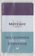 NETHERLANDS MERCURE HOTELS - Cartas De Hotels