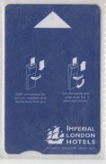 UNITED KINGDOM ENGLAND IMPERIAL LONDON HOTELS - Cartas De Hotels