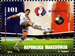 MACEDONIA 2016 European Championship - France MNH
