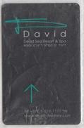 ISRAEL DAVID DEAD SEA RESORT SPA HOTEL DSDC JEWELLERY - Cartas De Hotels