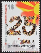 Macedonia 2016 The 25th Anniversary Of Independence MNH