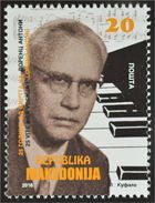 Macedonia 2016 The 25th Anniversary Of The Death Of Lawrence Anthony, 1919-1991 MNH