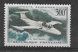 FRANCE 1957/1959  Maurane-Saulnier  POSTE AERIENNE YT 35  Neuf** Cote 2015 = 8.00  € à  30 %