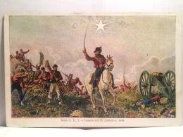 FR,COLLEZIONE,STORIA POSTALE,CARTOLINA POSTALE,REALI,PERSONAGGI MILITARI,GARIBALDI IN AMERICA,1846 - Personnages