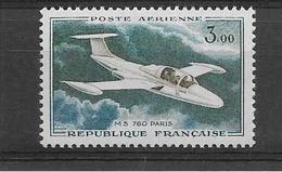 FRANCE 1960/1964  MS 760   POSTE AERIENNE YT 39 Neuf** Cote 2015 = 2 €