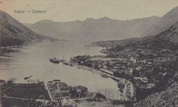 MONTENEGRO. CPA TRÈS RARE. KOTOR CATARO. ANNÉE 1919 - Montenegro
