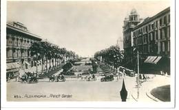 Egypte   ALEXANDRIE -     FRENCH GARDEN - Alexandrie