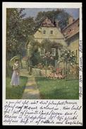 [006] Deutscher Schulverein Wien, Nr. 1086, Gel. 1919, Künstlerkarte E. Payer - Illustratori & Fotografie