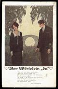 [006] Deutscher Schulverein Wien, Nr. 1469, Gel. 1943, Künstlerkarte, Mängel - Illustratori & Fotografie