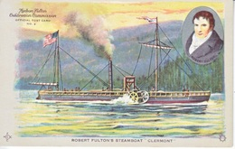 U.S.  HUDSON-FULTON  EXPO. 1909   *   STEAMSHIP - Universal Expositions