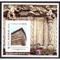 Bloc FFAP N°10 Passion Du Timbre 2015 Mâcon - Blocs & Feuillets