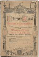 D 196   Catalogue Mustel De Musiques D'Harmonium De 1895 - Objets Dérivés
