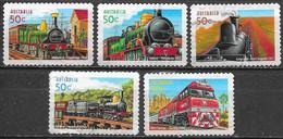 Australie - Trains  - Oblitérés - Lot 253