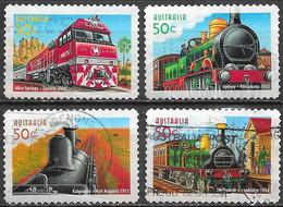 Australie - Trains  - Oblitérés - Lot 254