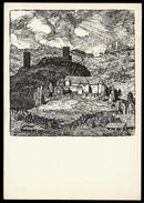 [006] Suitbert Lobisser Kunstkarte Nr. 78, 1978, Glantal, Lobisserhaus Klagenfurt - Illustratori & Fotografie
