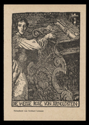 [006] Suitbert Lobisser Künstlerkarte, ~1940, Weisse Rose Von Arnoldstein, Verlag Kollitsch - Illustrators & Photographers
