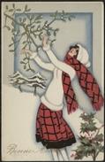 FANTAISIE 1930 : Dessin Signé Carlo Chiostri - Illustrateurs & Photographes