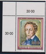 M 424) Österreich 1992 Mi# 2057 **: Christian Doppler, Physiker Mathematiker