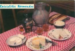CPM - Spécialités Normandes - Recettes (cuisine)