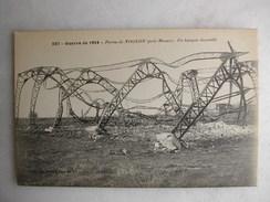 MILITARIA - Ferme De NOGEON (près Meaux) - Un Hangar Incendié - War 1914-18