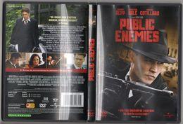 CINEMA - POLICIER - DVD - PUBLIC ENEMIES - DE MICHAEL MANN - JOHNNY DEPP / CHRISTIAN BALE / MARION COTILLARD - Policiers