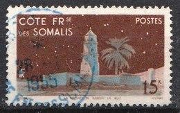 Colonies Française - Côte Française Des Somalis - 1947- Timbre ʘ, Oblitéré N° YT 280 - Französich-Somaliküste (1894-1967)