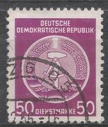 German Democratic Republic 1954. Scott #O14 (U) Arms Of Republic * - Service