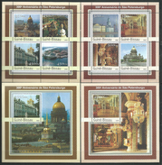 Guinea Bissau / Guinée-Bissau 2003 The 300th Anniversary Of St. Petersburg.Russia.4 S/S.MNH