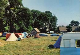 Cpm Le Treport Camping International Du Port  Voitures Non  Ecrite - Le Treport