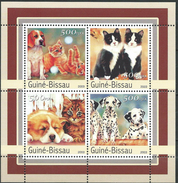 Guinea Bissau / Guinée-Bissau 2003 Dogs And Cats.Pets.S/S.MNH