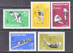 Argentina  B 19-21, CB 15-16  **   SPORTS  PAN-AM  GAMES - Unused Stamps